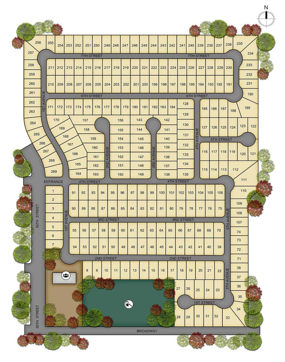 Aspenwood Site Map Updated - Available Homes